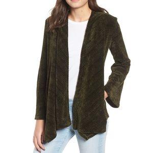 🆕 BB Dakota Chenille of Fortune Drape Jacket Med